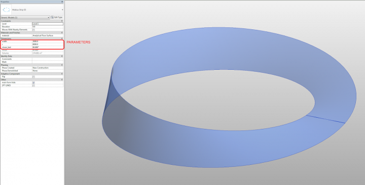 Mobius Strip Attempt with download