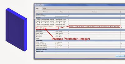 Driving a Revit Material Parameter with Formulas, and Randomizing Materials