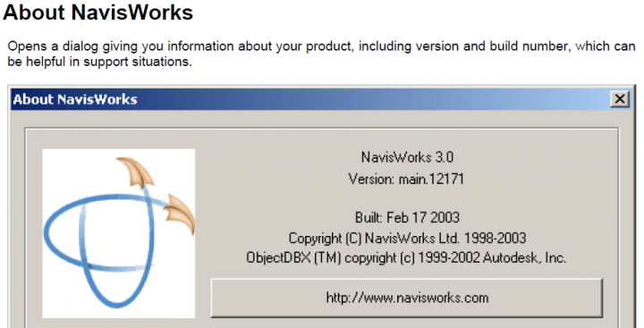 Old School Navisworks Roamer manual