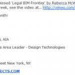2 Hour Presentation on the Legal Aspects of BIM