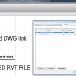 Live and reloadable RVT and DWG Link inside a component RFA Family