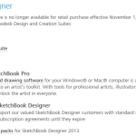 The Value of SketchBook Designer 2014 vs Sketchbook Pro 2015