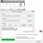 Free File Upgrader for Revit 2015