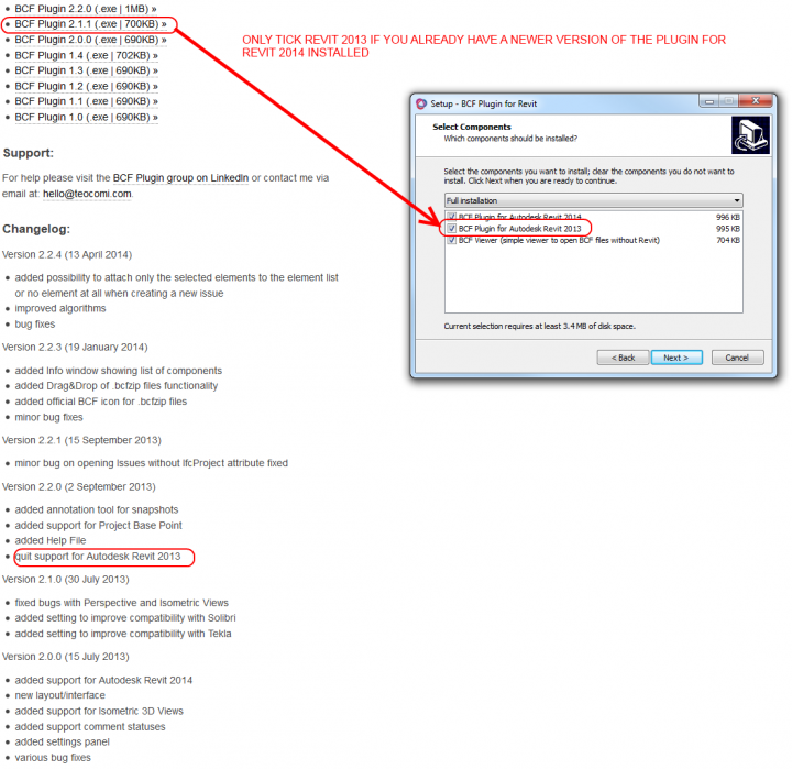 Installing BCF Plugin for Revit 2013