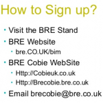 Supplying COBie using breCOBie (from BSL2014), now in Beta