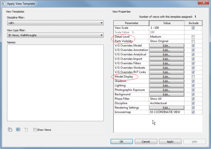 Problems Exporting an NWC? It could be your View Template
