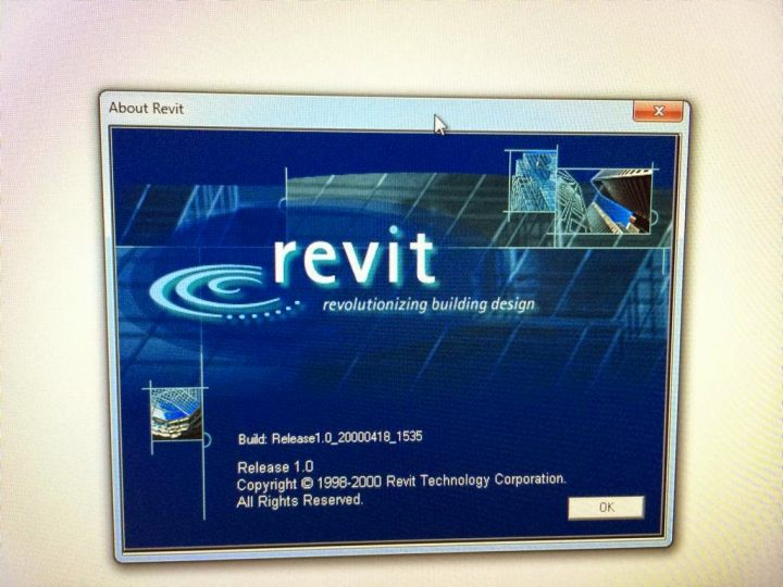 Is it just me or is RTCNA all about Revit version 1.0?