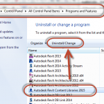 How to Handle Revit 2015 Content installation and reinstallation