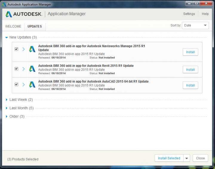 Updated BIM360 Glue addins for AutoCAD, Revit and Navisworks (version 4.33.6482) – Direct Links