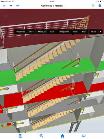 View IFC files on your iPhone and iPad with Tekla Field3D