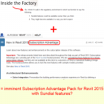 Revit 2015 Subscription Advantage Pack on the way?