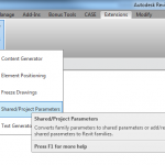Adding Shared Parameters to Revit Families Automatically