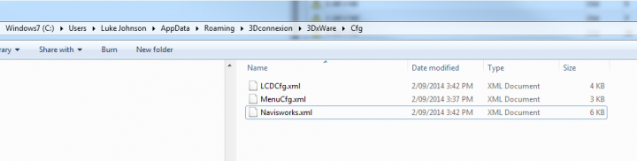 Modifying 3Dconnexion mapping XML file to utilise Keyboard shortcut correctly