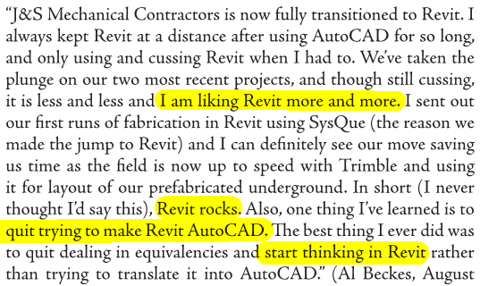 Trying to convince your Mechanical Contractor to adopt BIM and use Revit?