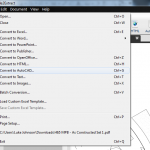 Tested: Using Able2Extract to convert PDFs to Vector information for use in CAD and BIM