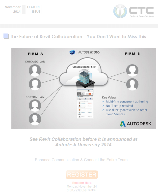 Collaboration for Revit is coming, Multi-firm concurrent authoring without complicated IT and LAN setup