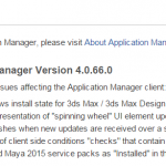 Autodesk Application Manager Version 4.0.66.0 released