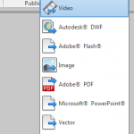 Revit to FBX to Inventor Publisher to 3D PDF