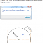 How to make a Radial Array with a value of 2 in Revit