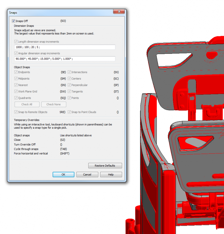 Tip for Working with Huge or Complicated Models or Families with Imports in Revit