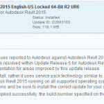 Update 6 for Autodesk Revit® 2015 download: 64-Bit R2 UR6 Direct Download Link