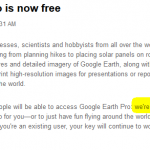 How to Get Your Free Google Earth *Pro* Serial Number