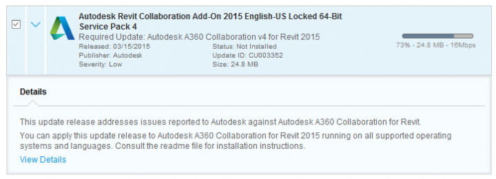A360 Collaboration for Revit Version 4 Direct Download Links