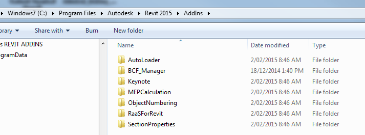 Script to Disable All Revit Addins