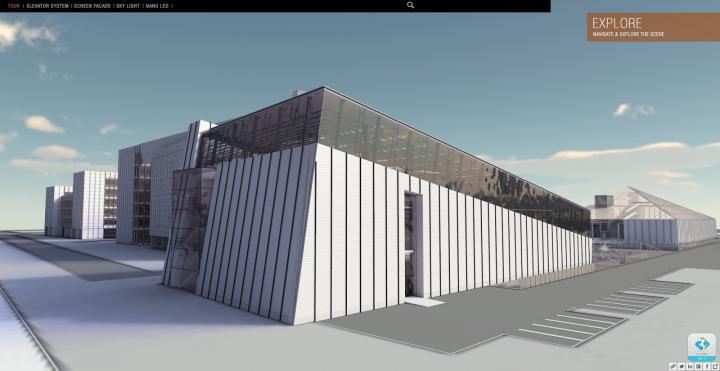Lightweight Web Platform for interactive 3D presentations