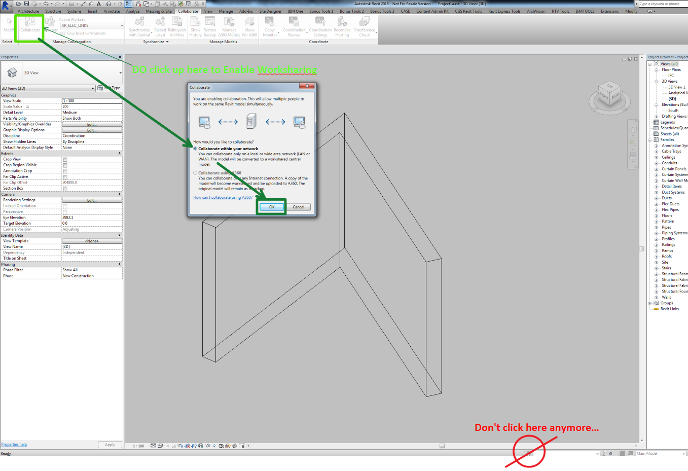 Two Secrets about Revit Schedules, Closed Worksets, and