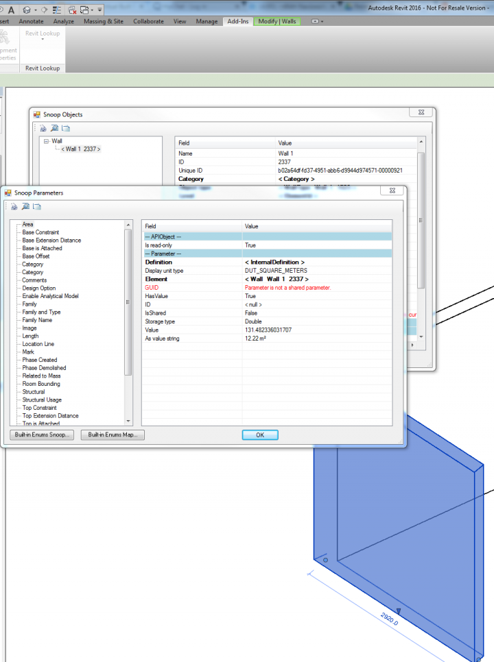 Download RevitLookup for Revit 2016