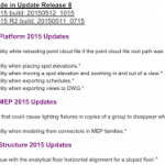 Revit 2015 Update Release 8 for R2.