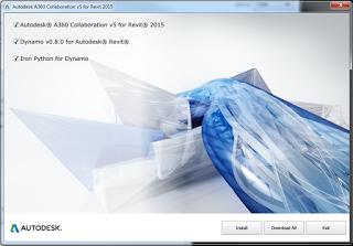Autodesk A360 Collaboration v5 for Revit 2015.