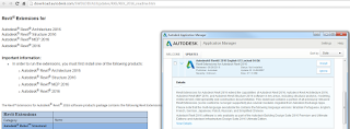 Looking for Revit Extensions for Revit 2016? Check your Application Manager…
