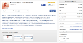 Save Revit 2016 models with Fabrication Parts to a format compatible with Autodesk® Fabrication 2016 software