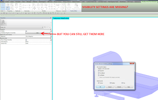 Free Form Element does not show Visibility Settings in Contextual Ribbon – Workaround