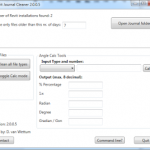 Download Free Revit Journal Cleaner for Revit 2016