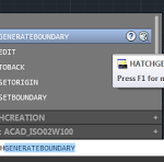 Use AutoCAD to Generate Hatch Boundary of Revit Filled Regions