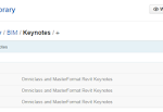 OmniClass and MasterFormat Keynote files available for download
