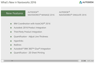 What's New in Navisworks 2016 – 7 minute presentation