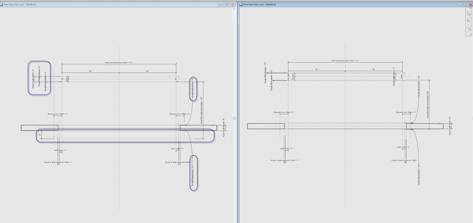 Free Revit Door Families for download including Nested Panels and