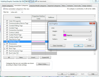 Visibility Override for Specific Tag Type