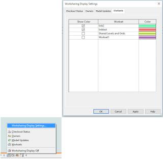 Set Worksharing Display Mode for All Views in Revit