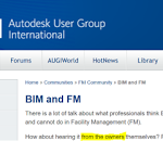 BIM and FM Resources