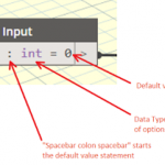 Add a Default Value to an Input Node in Dynamo in just a few seconds