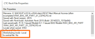 Solving a Local vs Central Revit Link Problem with View Templates