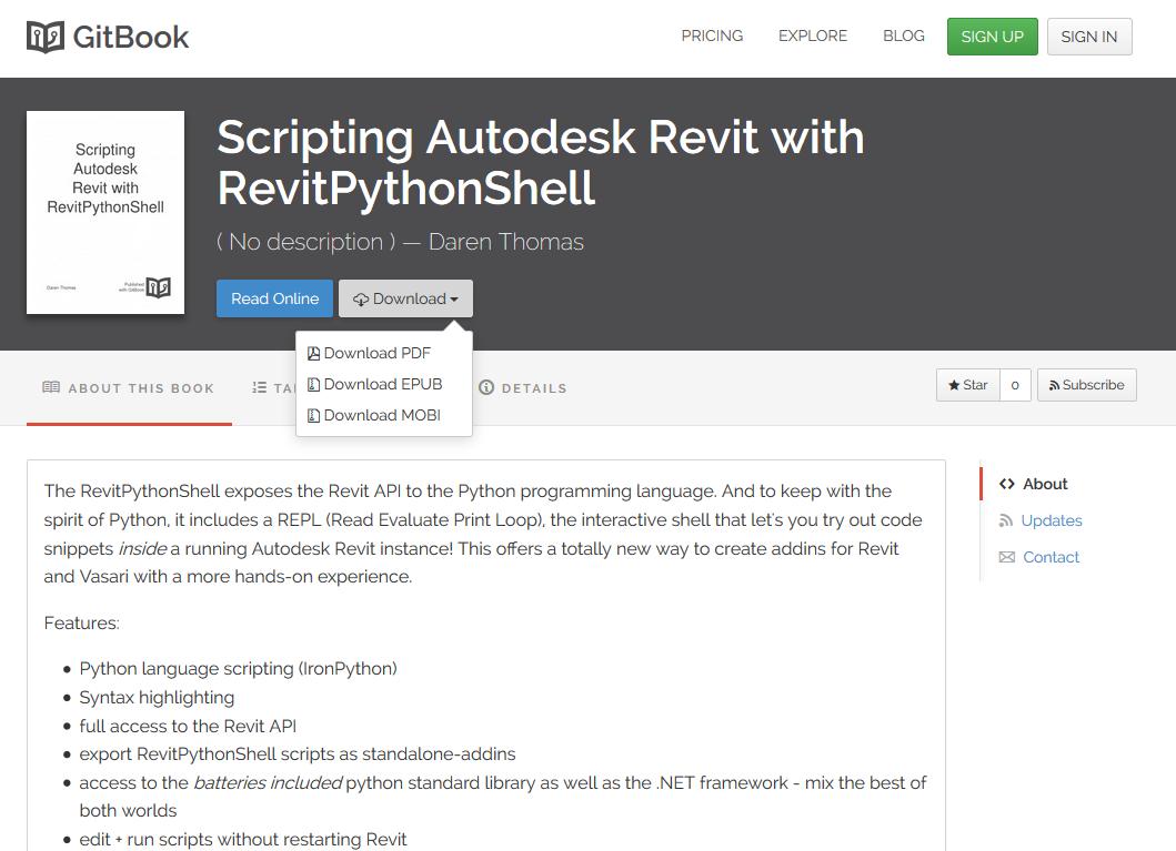 Learn Python Scripting in Revit » What Revit Wants