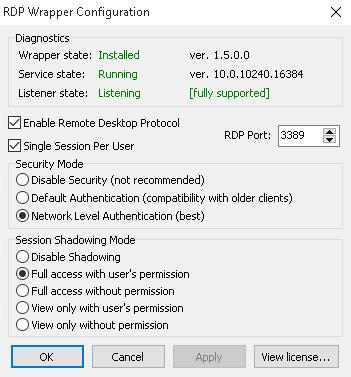concurrent rdp patcher windows 10