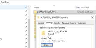 Use OneDrive or Google Drive to Store all of your Autodesk Updates for Automatic Sharing without a LAN