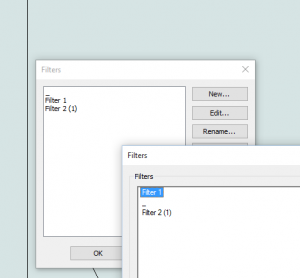 Access Revit View Filters in an Alphabetical List